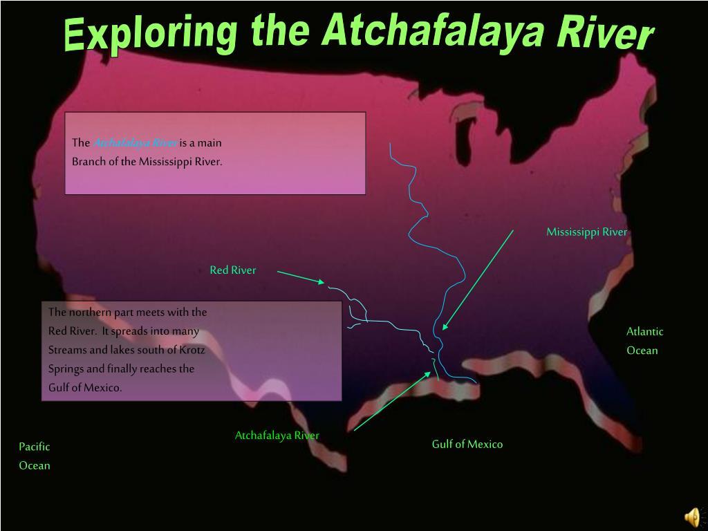 Exploring the Atchafalaya River