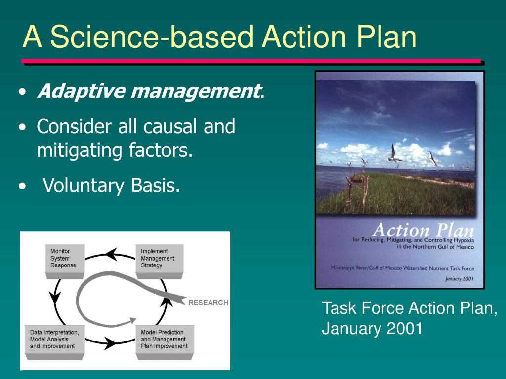 A Science-based Action Plan