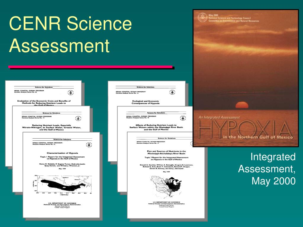 CENR Science Assessment