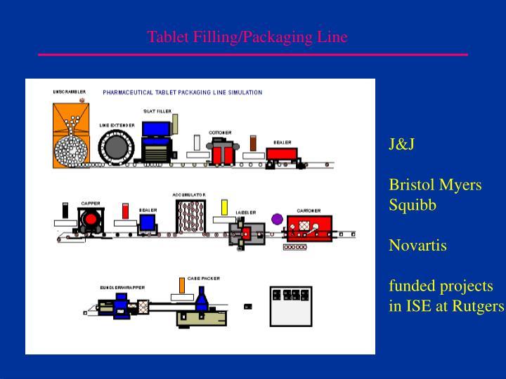 Tablet Filling/Packaging Line