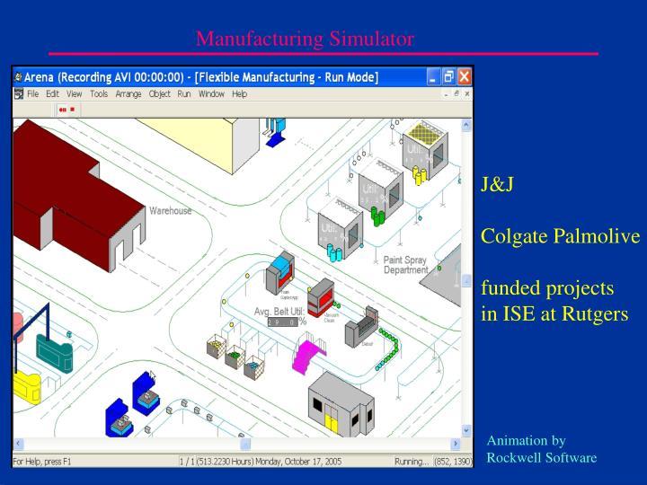 Manufacturing Simulator