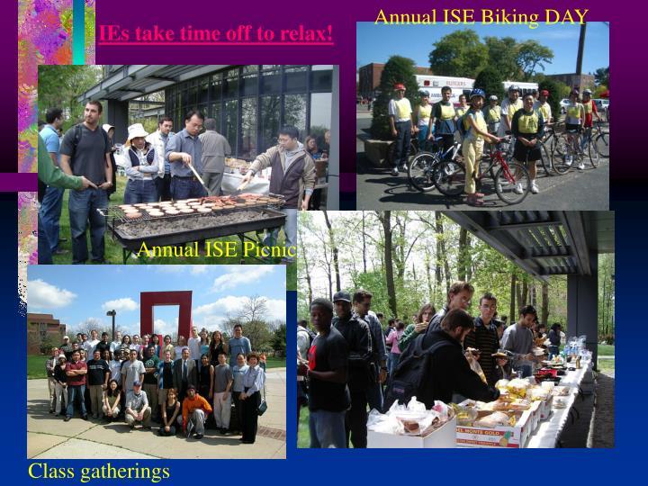 Annual ISE Biking DAY