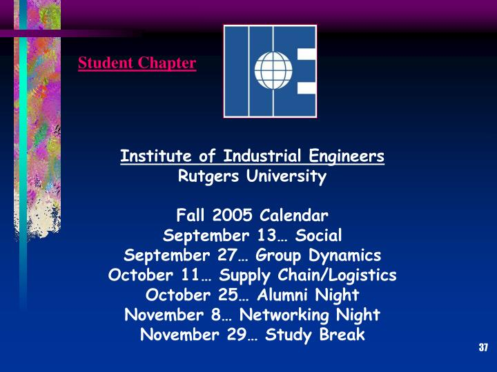 Student Chapter
