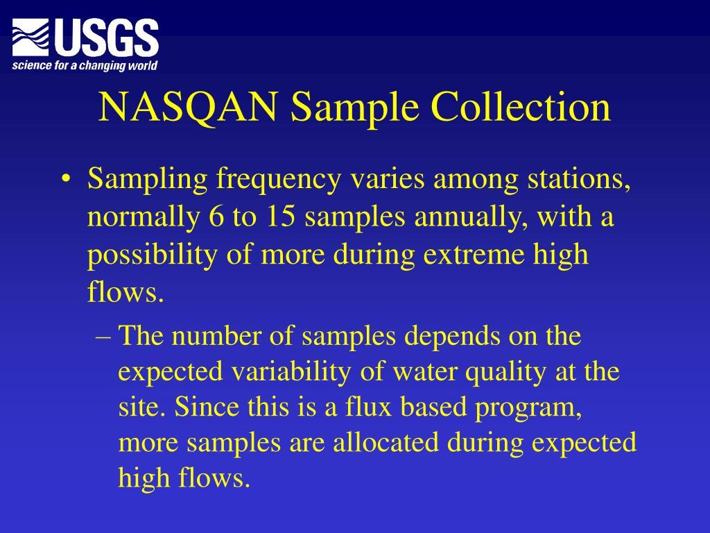 NASQAN Sample Collection