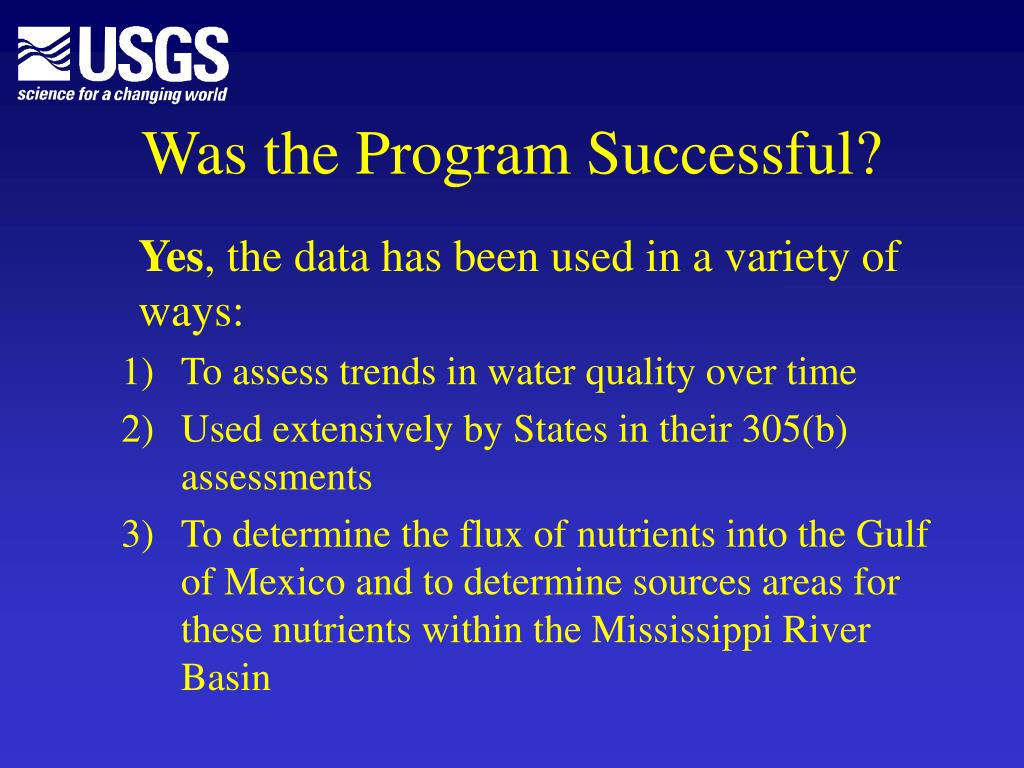 Was the Program Successful?