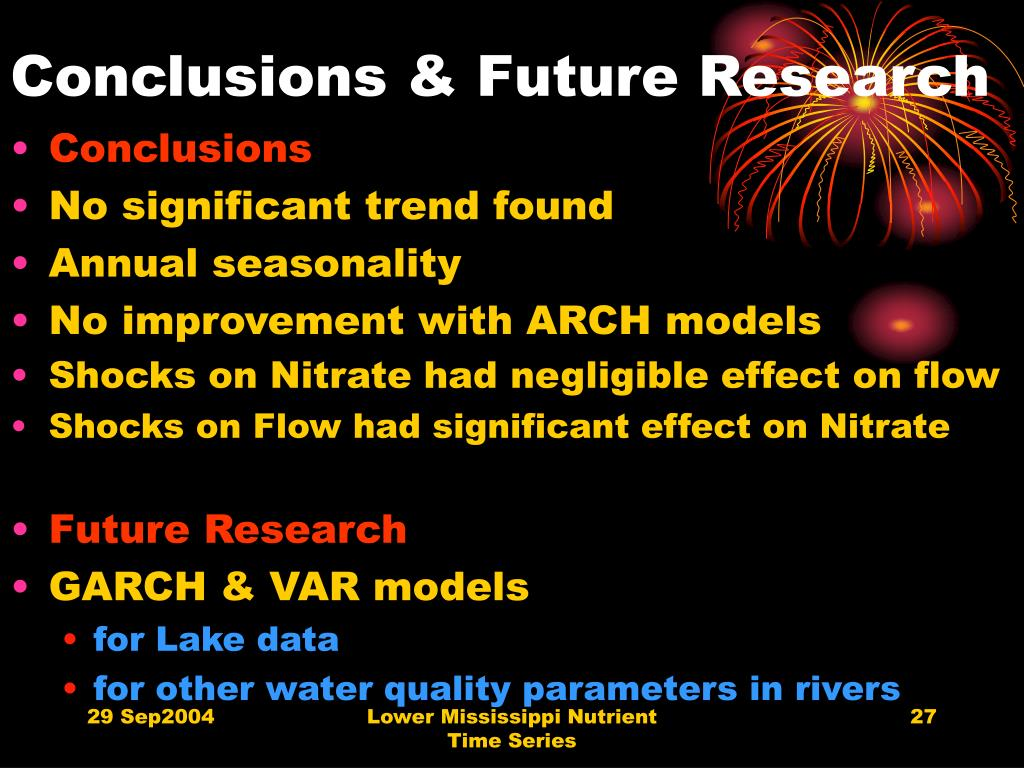 Conclusions & Future Research
