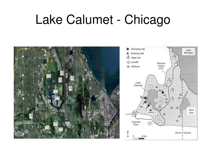 Lake calumet chicago