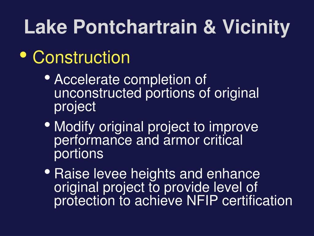 Lake Pontchartrain & Vicinity