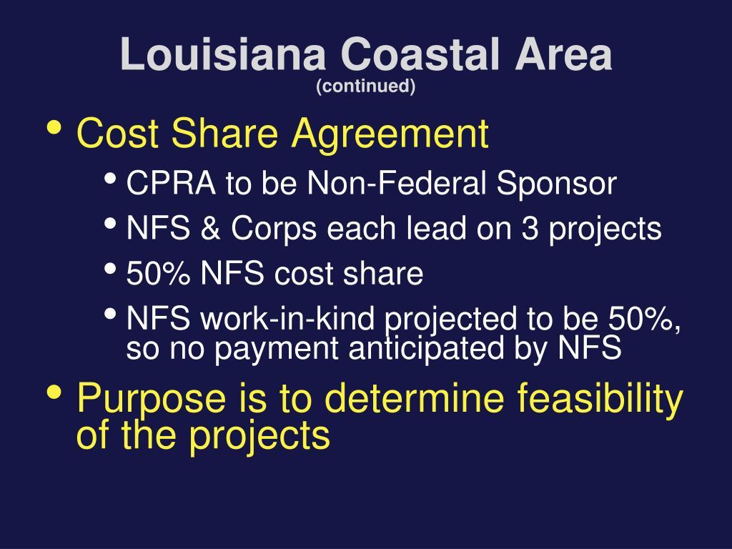 Louisiana Coastal Area