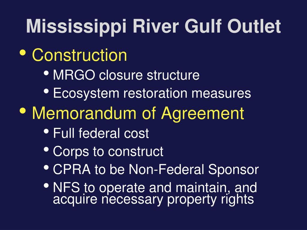 Mississippi River Gulf Outlet