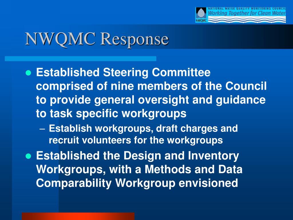 NWQMC Response