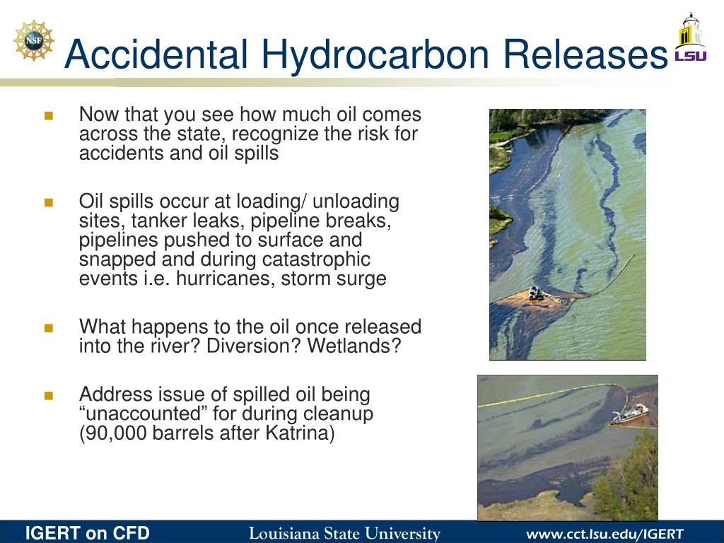 Accidental Hydrocarbon Releases