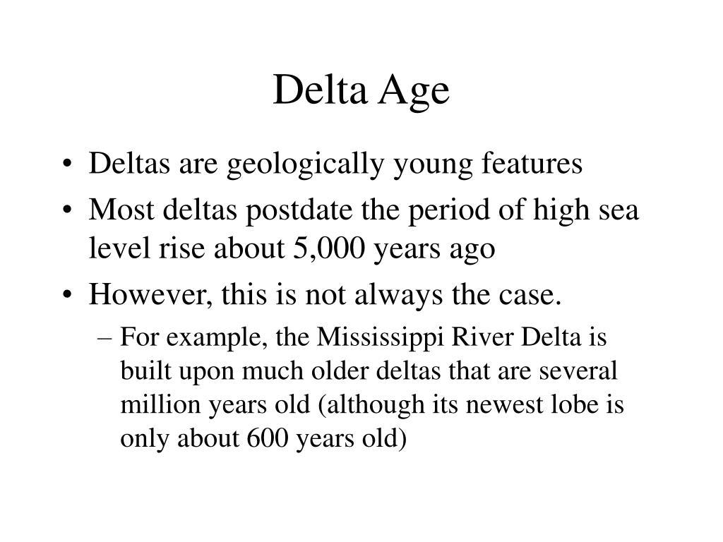 Delta Age