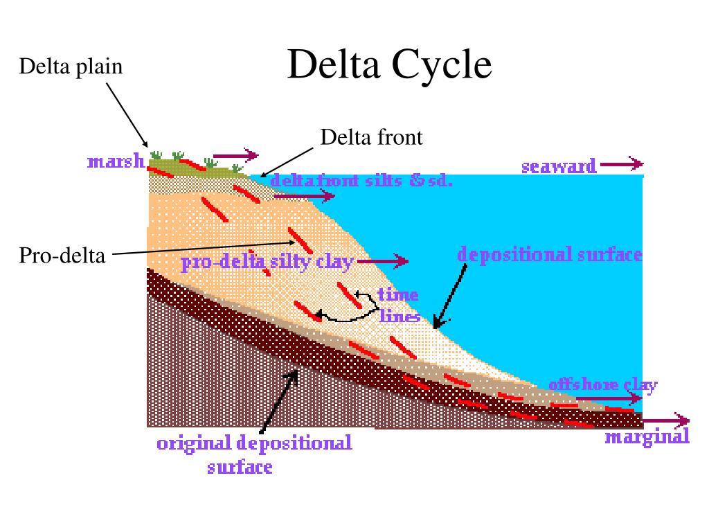 Delta plain