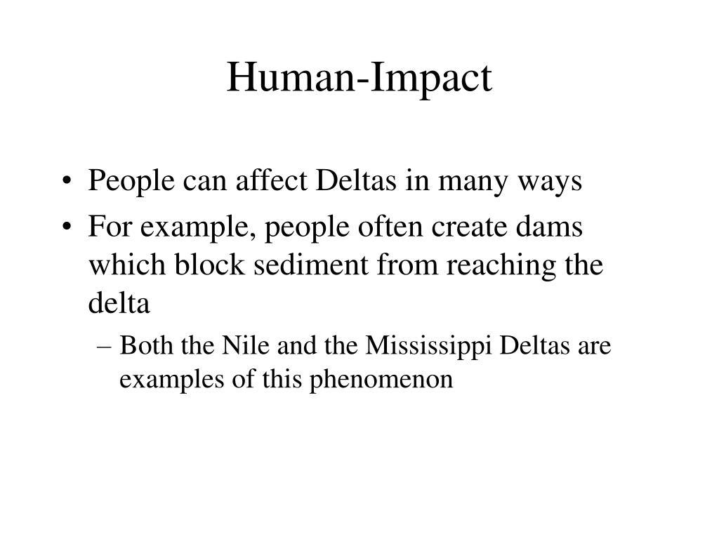 Human-Impact