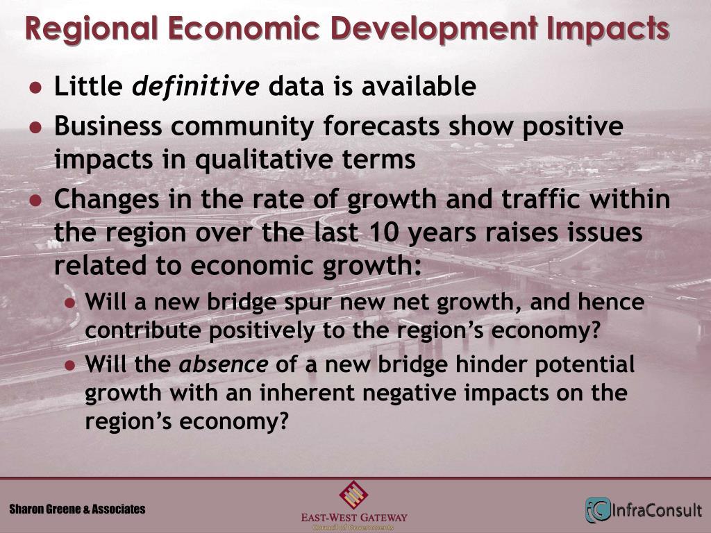 Regional Economic Development Impacts