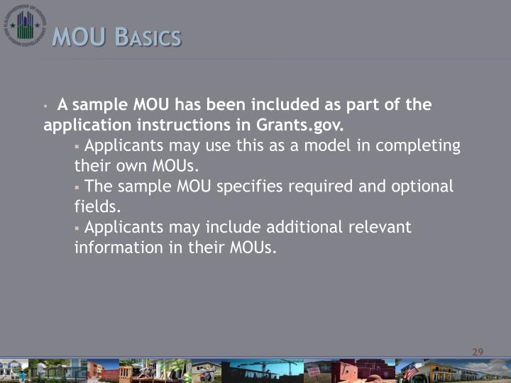 MOU Basics