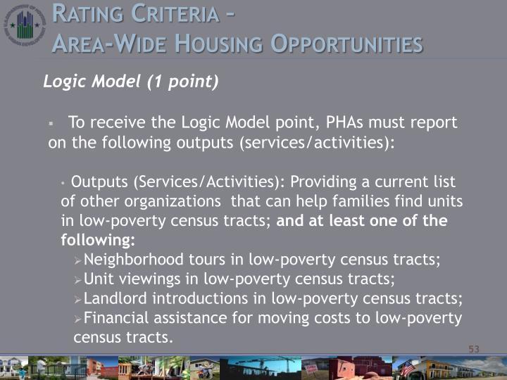 Rating Criteria –