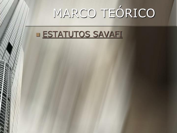 MARCO TEÓRICO