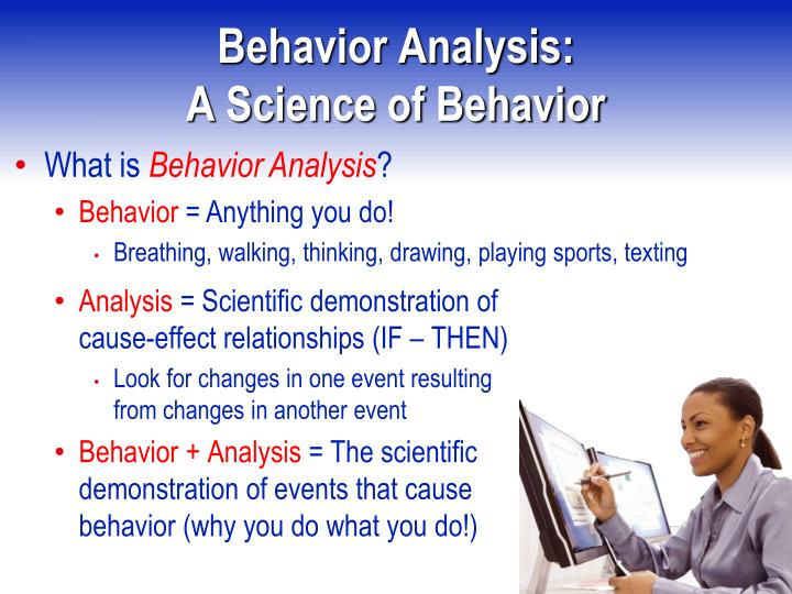 Behavior Analysis: