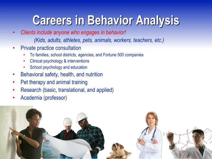Careers in Behavior Analysis