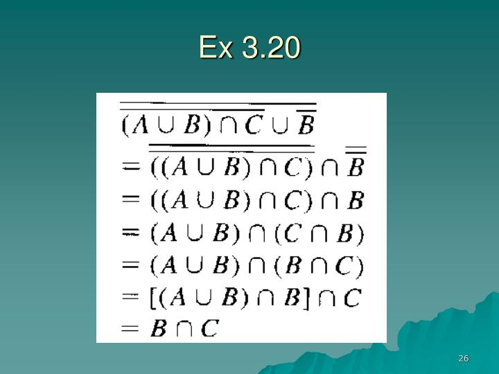 Ex 3.20