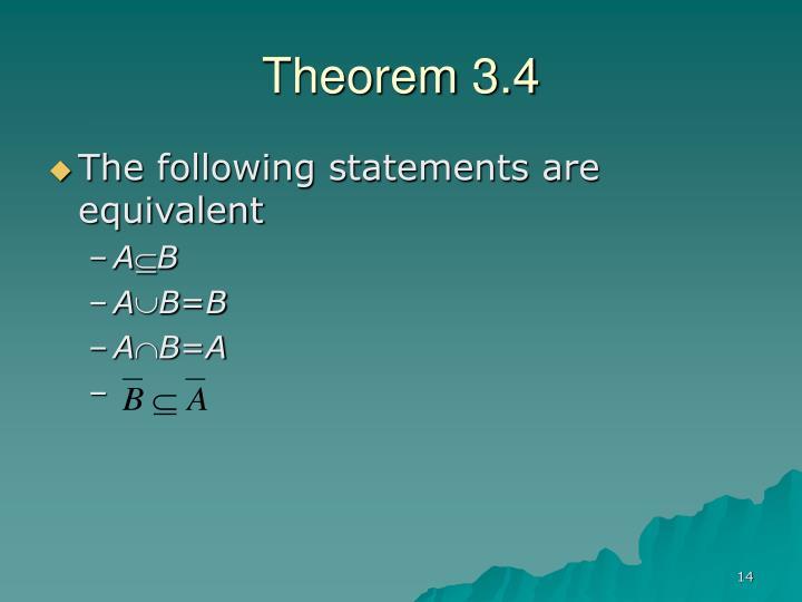 Theorem 3.4