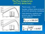 the flux computation atlas detection