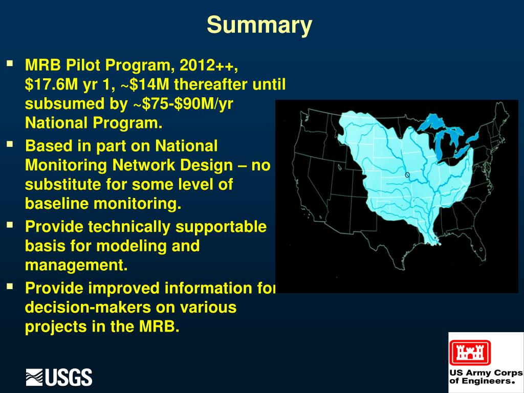 MRB Pilot Program, 2012++, $17.6M yr 1, ~$14M thereafter until subsumed by ~$75-$90M/yr National Program.