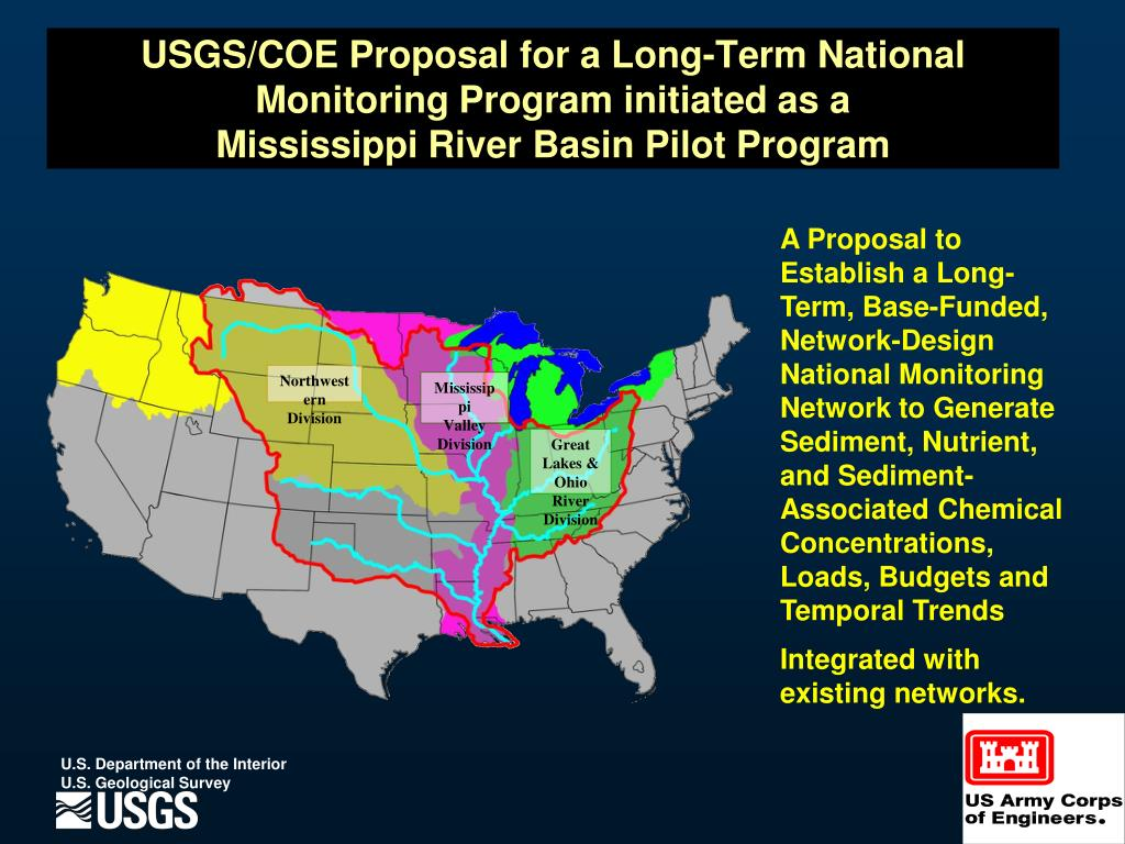 USGS/COE Proposal for a Long-Term National Monitoring Program initiated as a