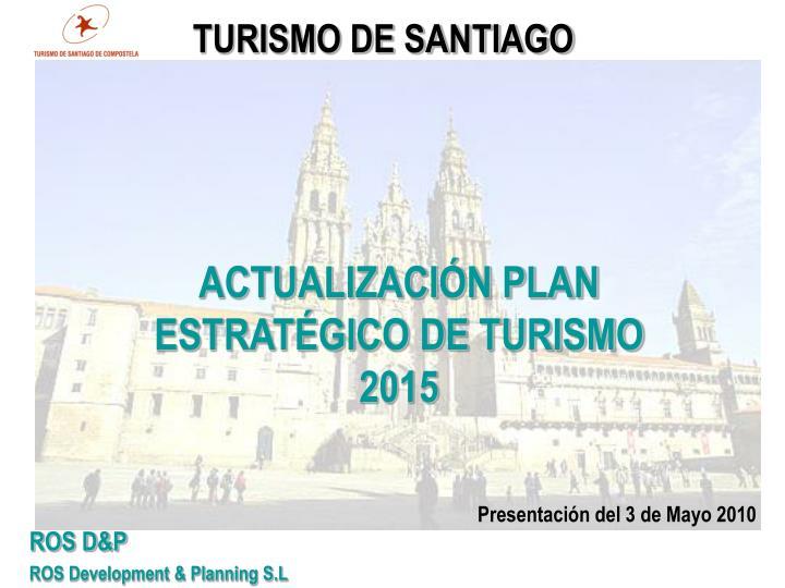 TURISMO DE SANTIAGO