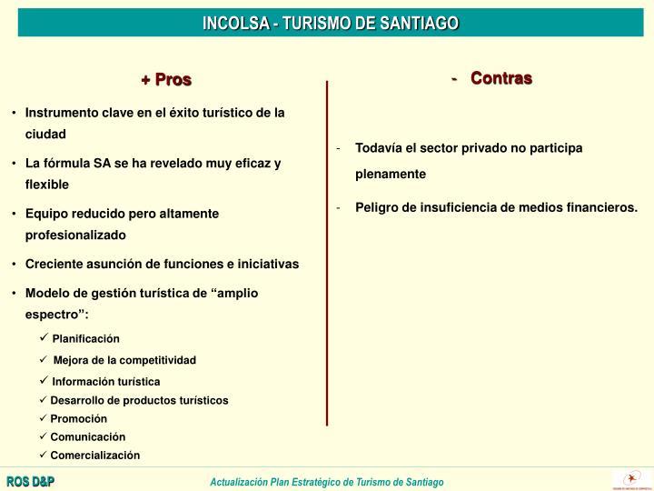 INCOLSA - TURISMO DE SANTIAGO