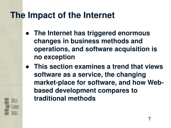 The Impact of the Internet