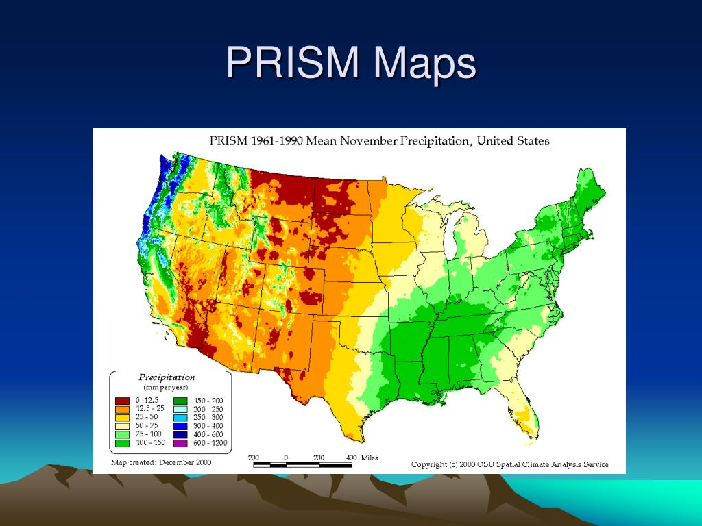 PRISM Maps
