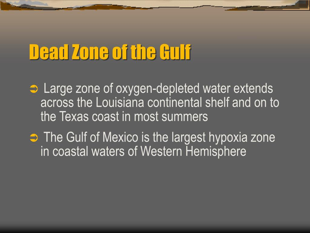 Dead Zone of the Gulf