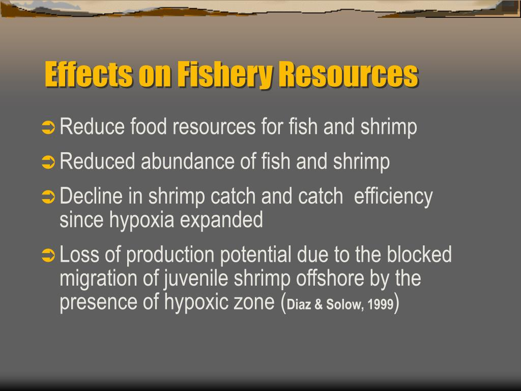 Effects on Fishery Resources