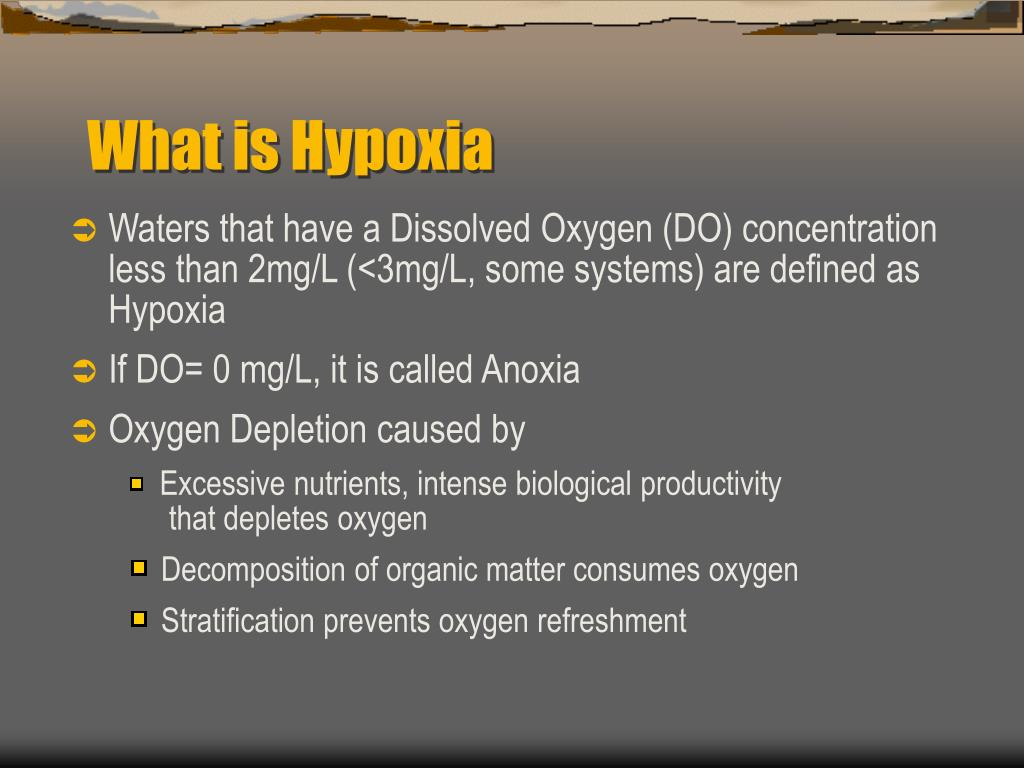 What is Hypoxia