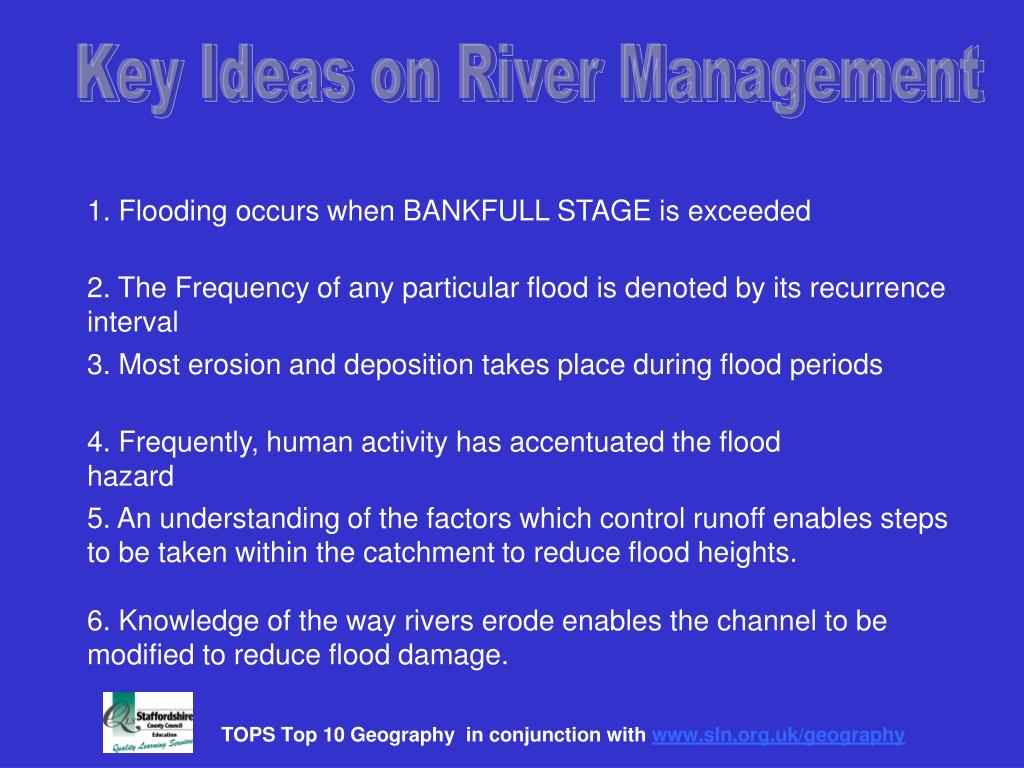 Key Ideas on River Management