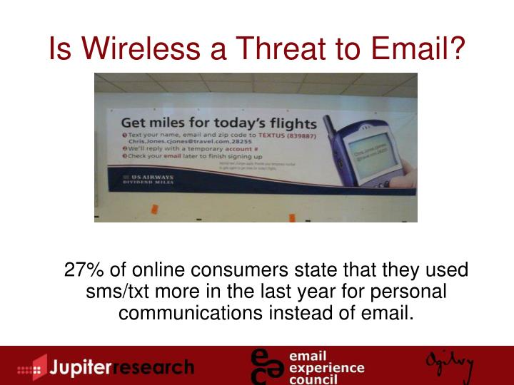 Is Wireless a Threat to Email?