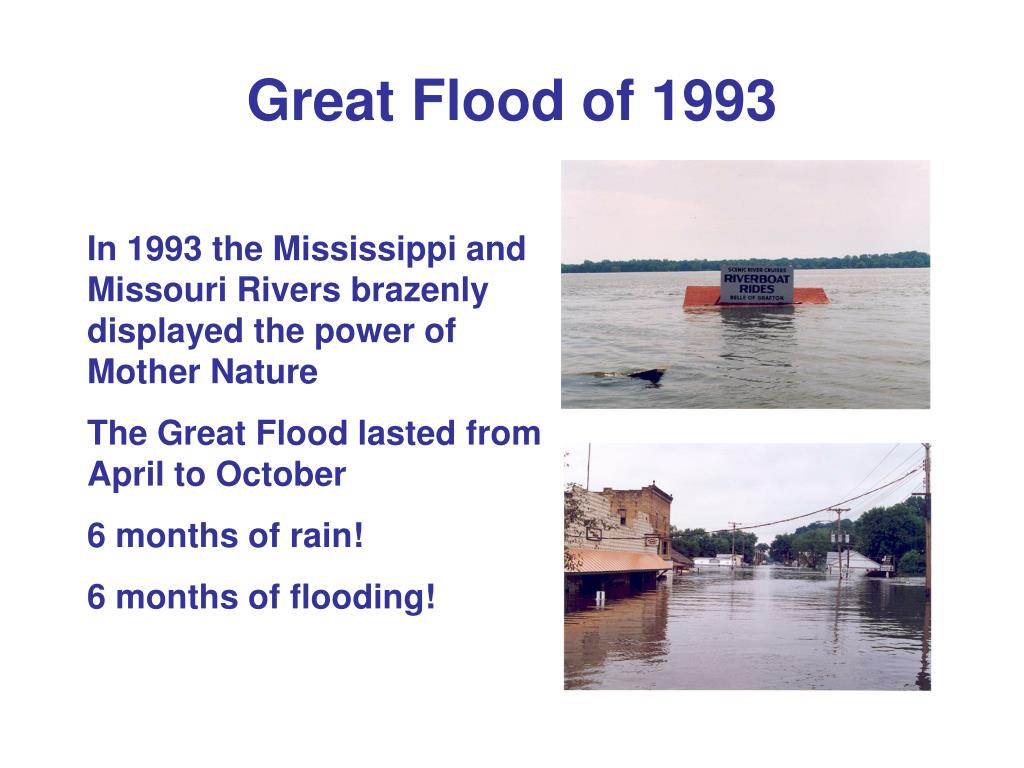 Great Flood of 1993