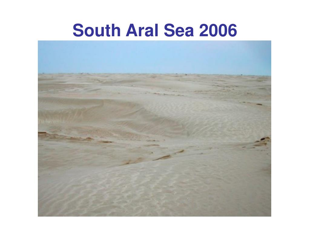 South Aral Sea 2006