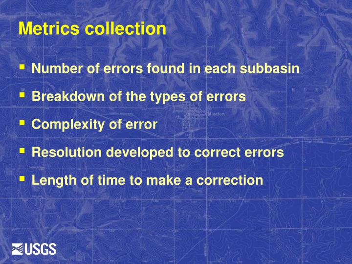 Metrics collection