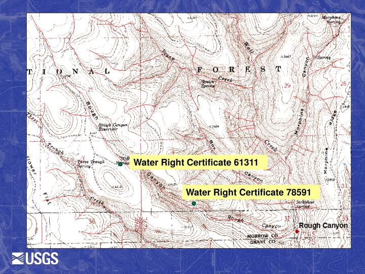 Water Right Certificate 61311