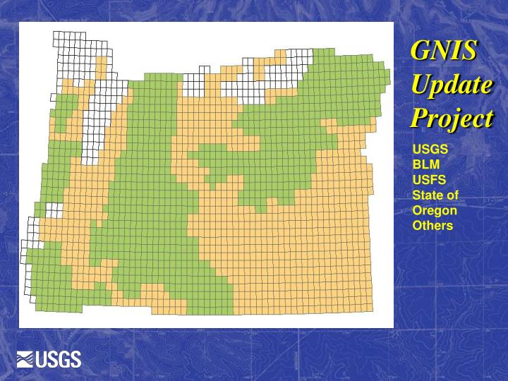 GNIS Update Project