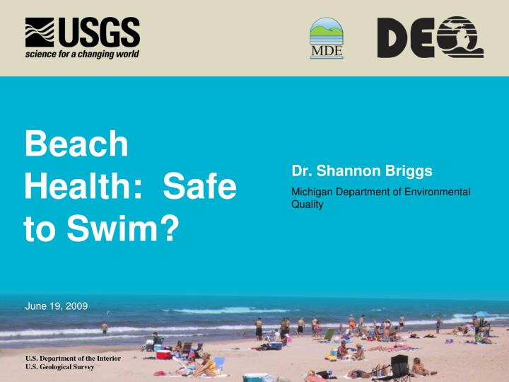 beach health safe to swim