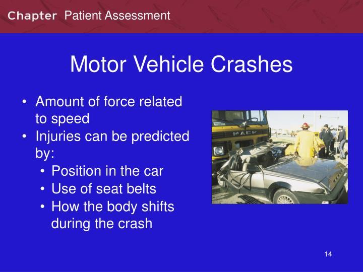 Motor Vehicle Crashes