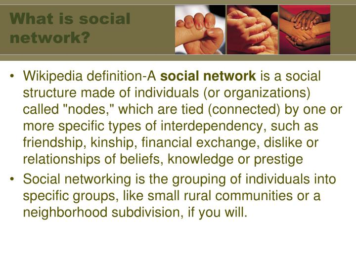 What is social network?