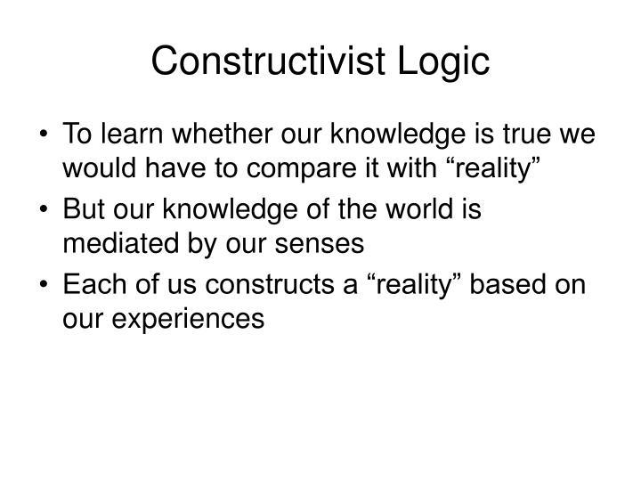 Constructivist Logic