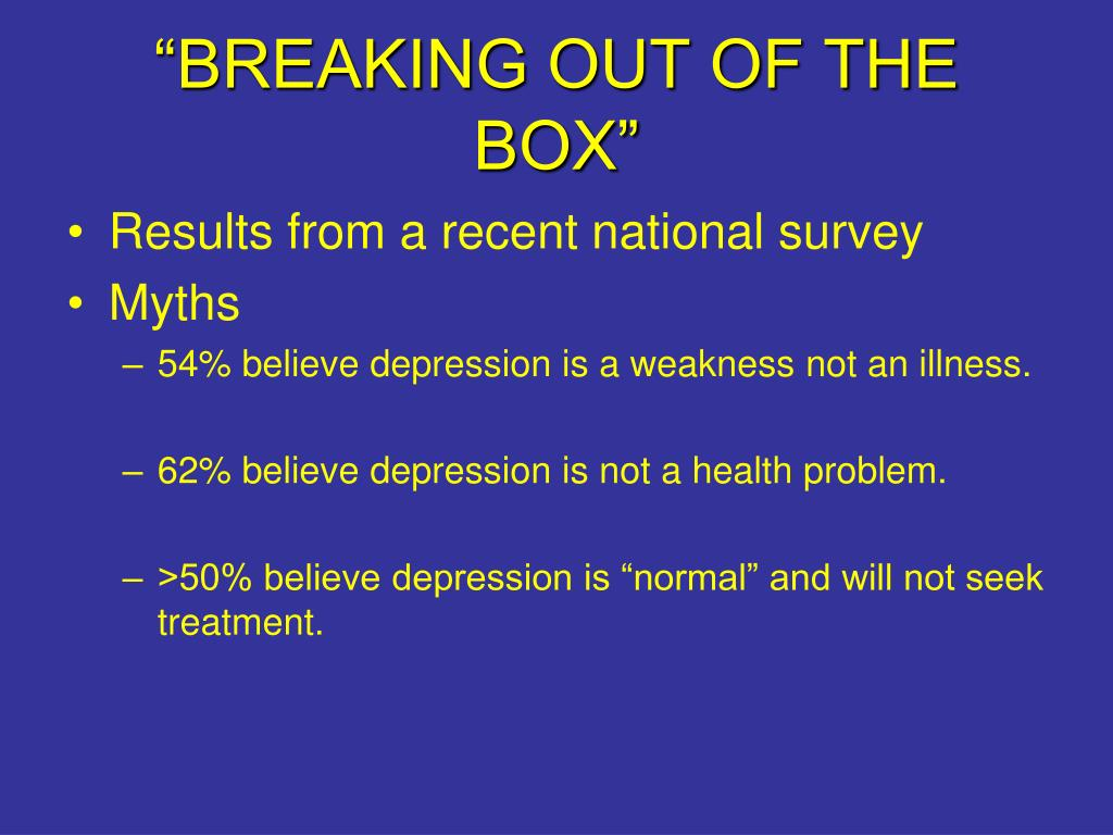"""""""BREAKING OUT OF THE BOX"""""""