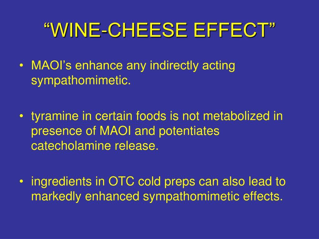 """WINE-CHEESE EFFECT"""